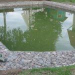 Бассейн из габионов
