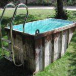 Бассейн из ковша