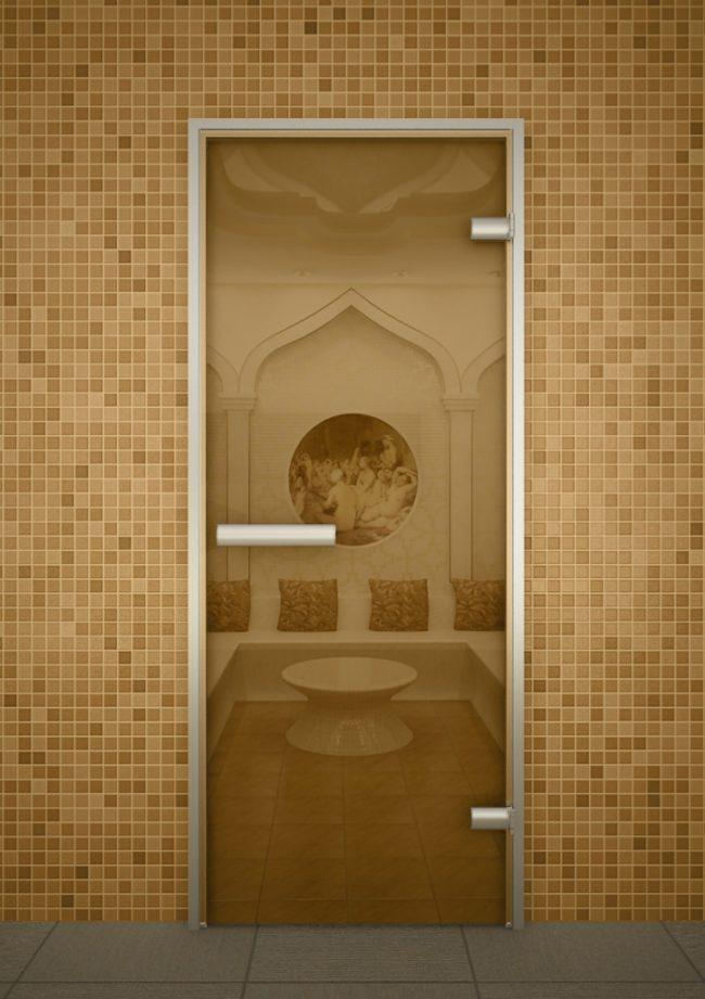 Двери хамама