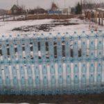 Пластиковая тара — основа такого сооружения
