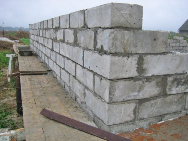 Стены хамама