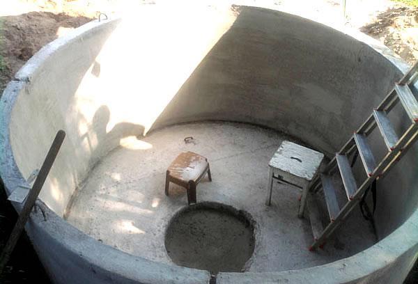 ЖБ кольцо для бассейна