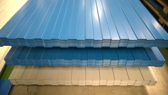 Стеновой профилированный лист